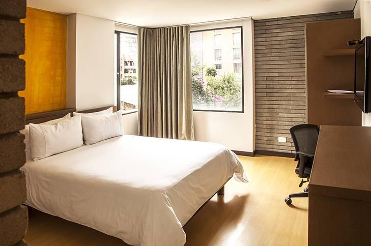 Habitación hotel viaggio nueve trez bogotá