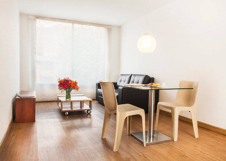 Two bedroom family apartment - double beds home & happy 85 bogotá